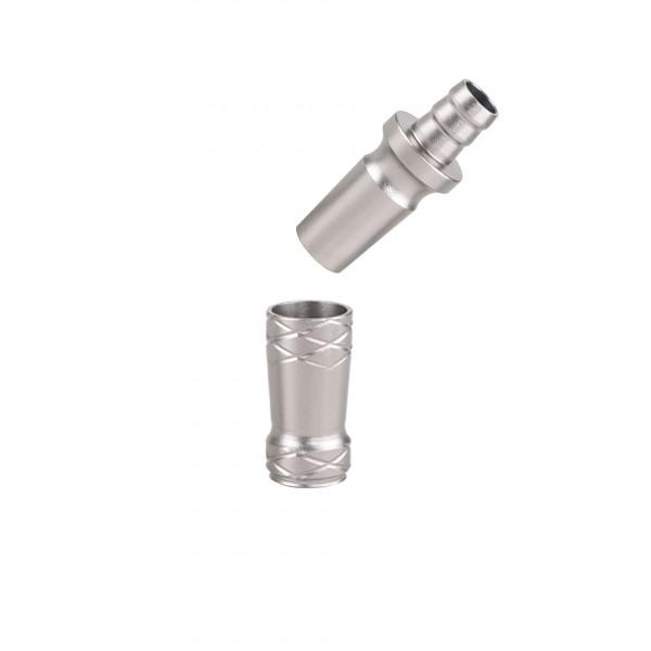 CAMO PRO ALU Adapter 18/8 Schliff Universal Grau