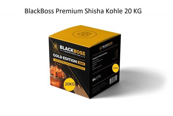 BlackBoss Kokosnuss Naturkohle Kohle 20KG