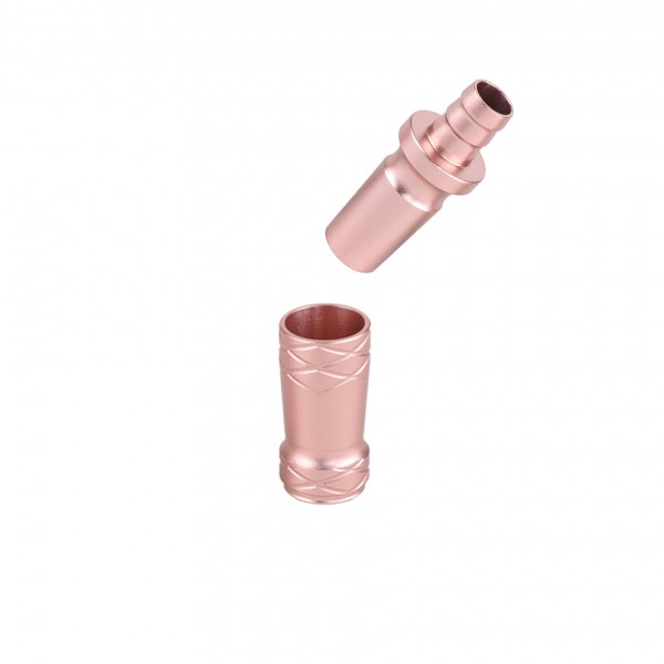 CAMO PRO ALU Adapter 18/8 Schliff Universal Rose