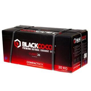Black Coco's Premium Kokosnuss Naturkohle Kohle 20Kg